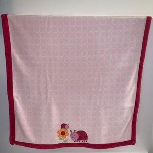Carter's Ladybug Luxe Baby Blanket
